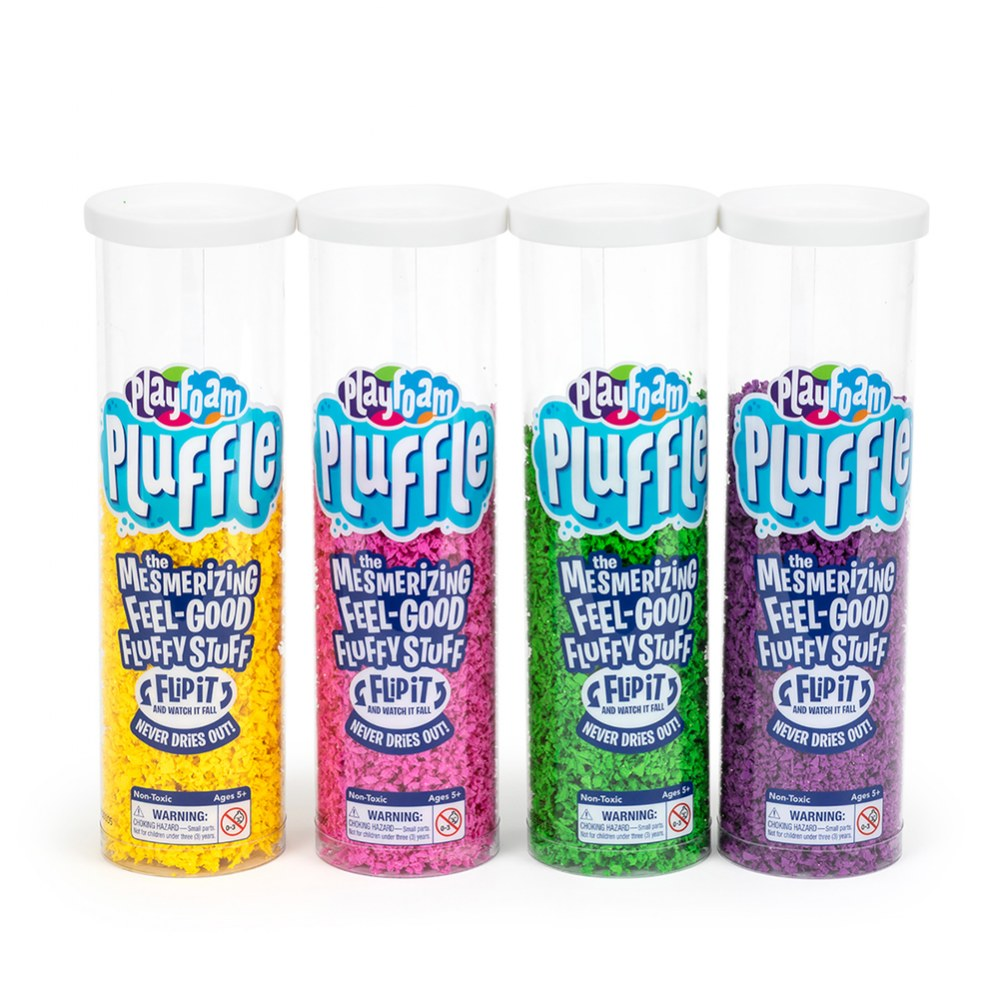 Playfoam Pluffle Bright Colors - 6 Pack