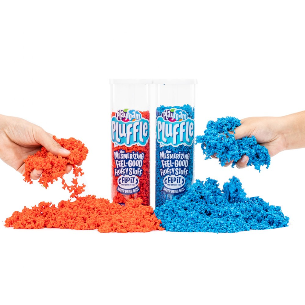 Alternate Image #1 of Playfoam Pluffle Basic Colors - 4 Pack