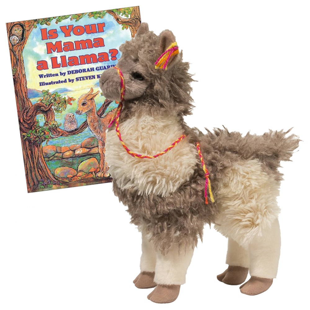 Zephyr the Llama Plush and Book Set