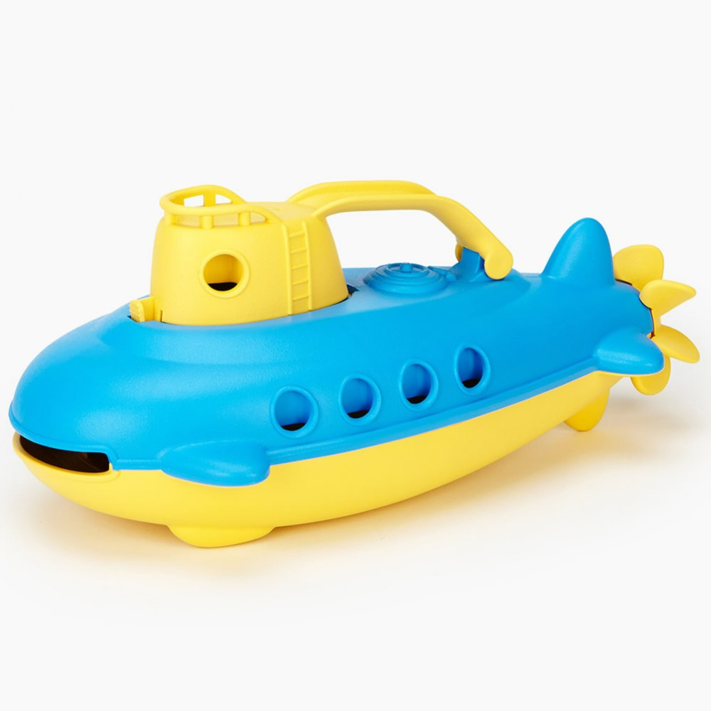 Alternate Image #1 of Eco-Friendly Floating Yellow Submarine For Toddlers