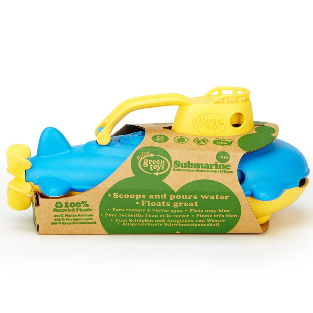 Alternate Image #2 of Eco-Friendly Floating Yellow Submarine For Toddlers