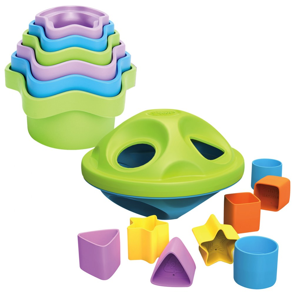Eco Friendly Stackers and Sorters Set