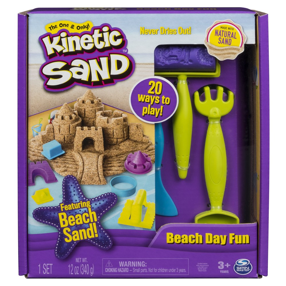 Kinetic Sand™ Beach Day Creative Fun