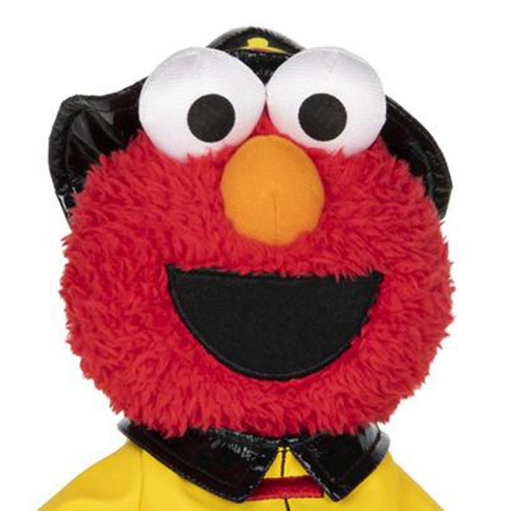 "Alternate Image #1 of Sesame Street Elmo The Fireman - Plush 11"" Elmo"