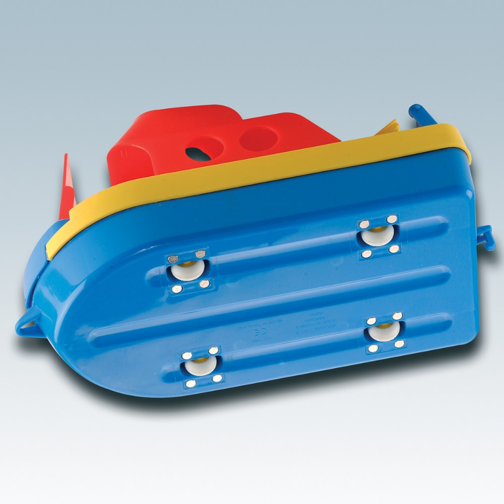 Alternate Image #1 of Jumbo Ferry Boat -  Primary Colors - Durable and Safe to Float on Water or Roll on Land