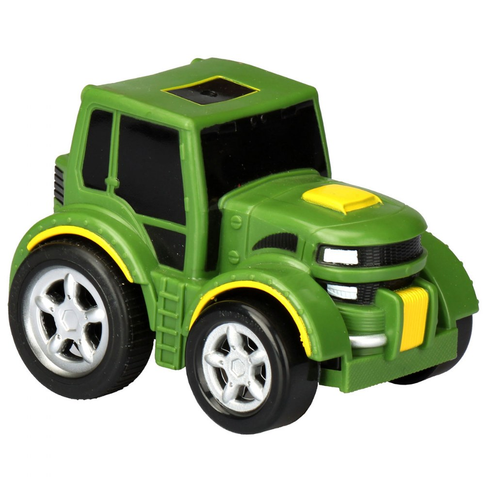 Alternate Image #11 of Pull-Back Race Car, Tractor and Dump Truck