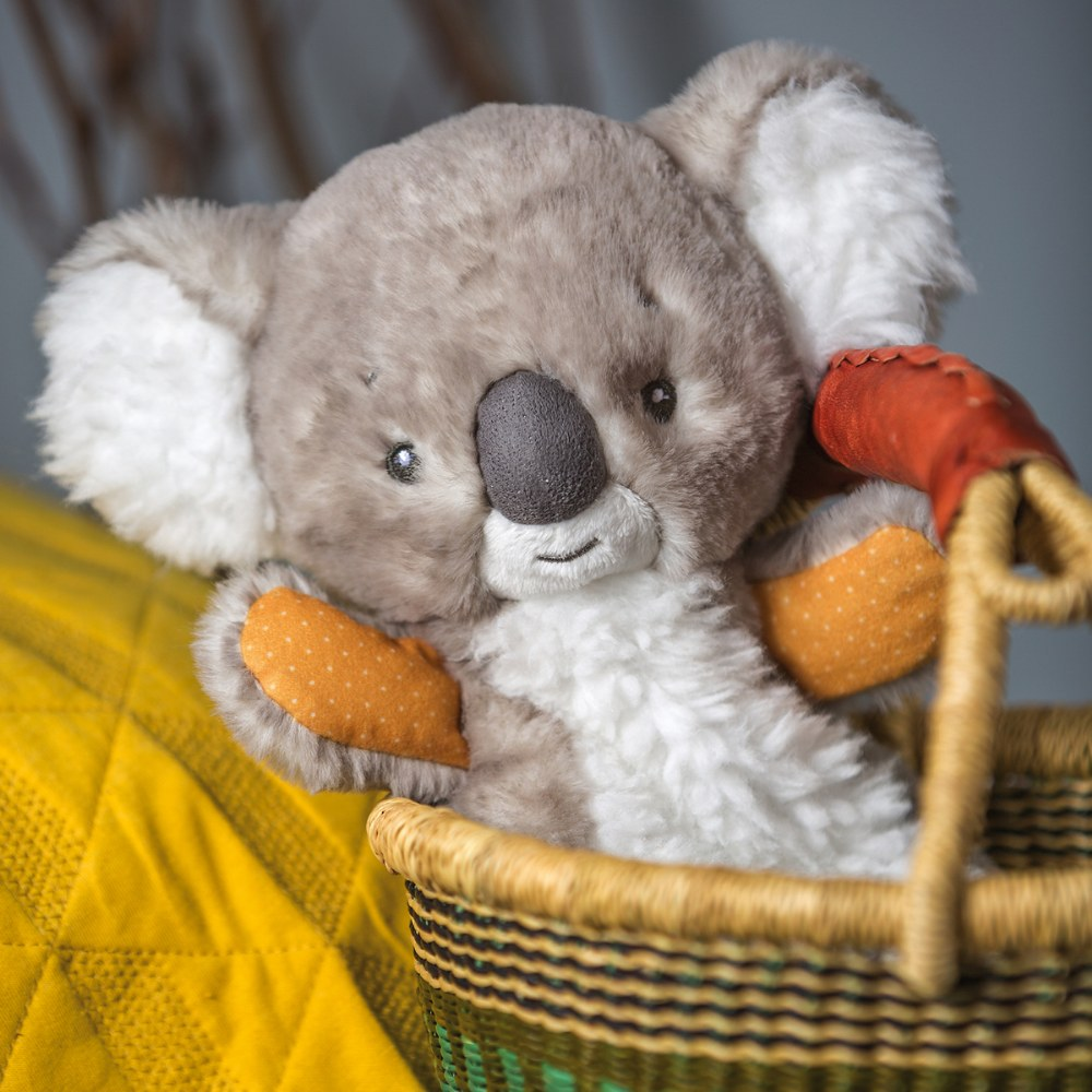 Alternate Image #1 of Mary Meyer Downunder Koala Lovey & Blanket