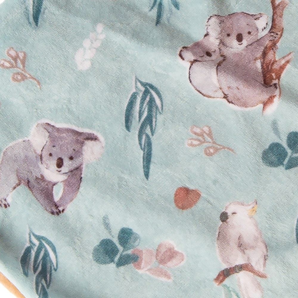 Alternate Image #4 of Mary Meyer Downunder Koala Lovey & Blanket