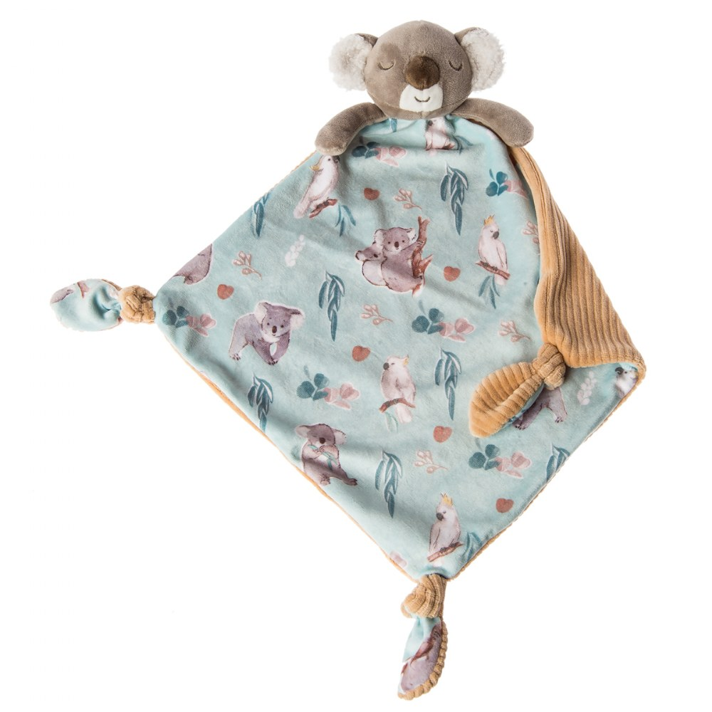 Alternate Image #8 of Mary Meyer Downunder Koala Lovey & Blanket