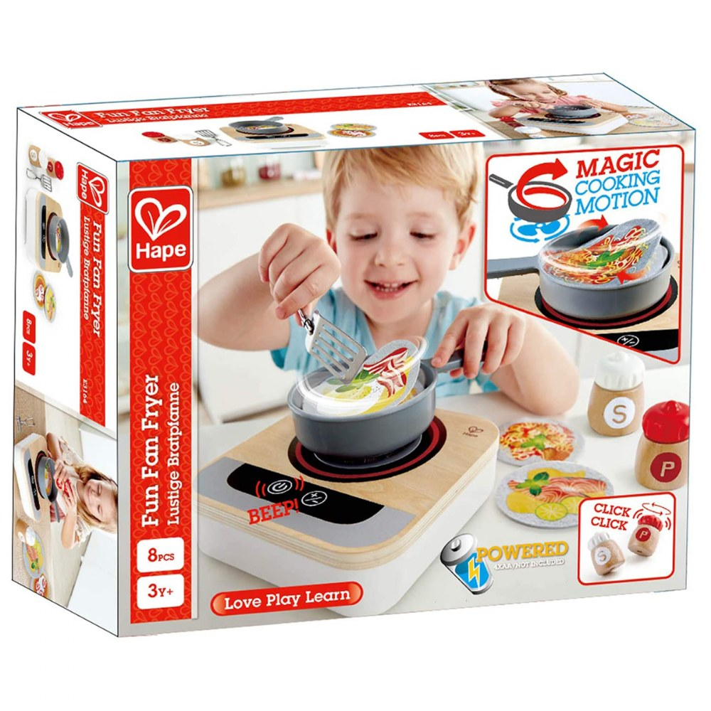 Alternate Image #4 of Fun Fan Fryer - Kitchen Playset for Preschoolers - for Magic Cooking Motion
