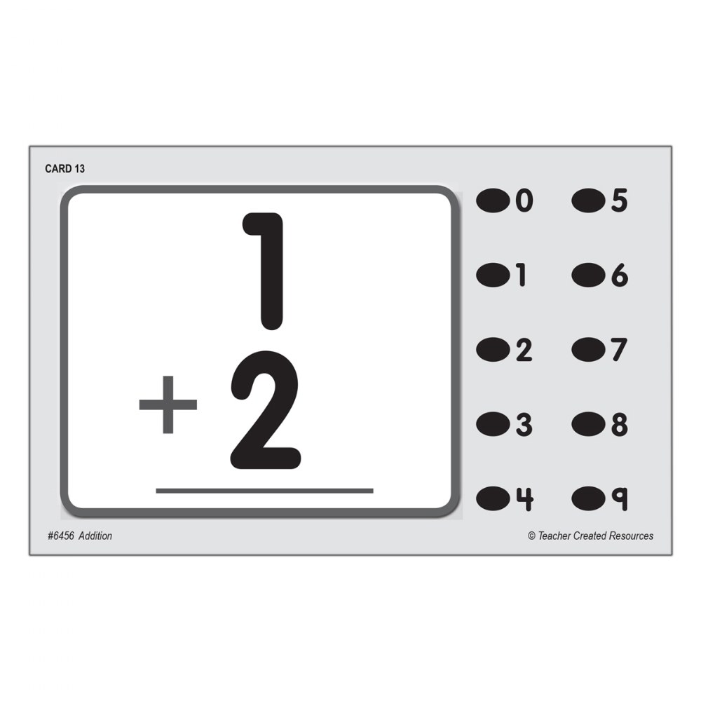 Alternate Image #1 of Math Quiz Card Set - Set of 7