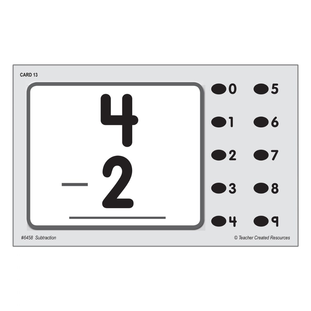 Alternate Image #2 of Math Quiz Card Set - Set of 7