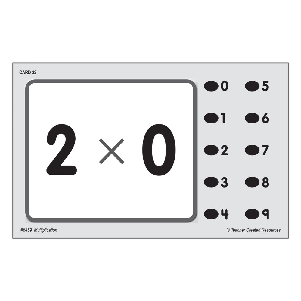 Alternate Image #4 of Math Quiz Card Set - Set of 7