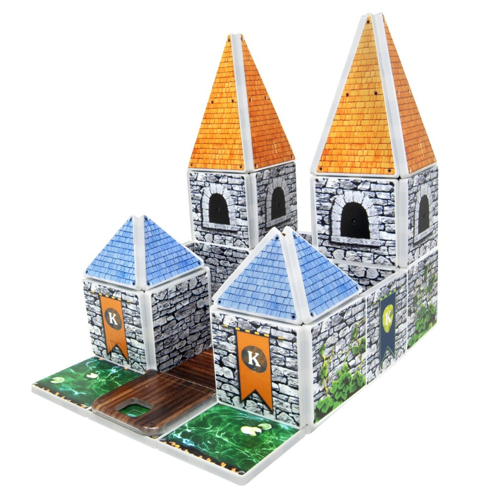 Alternate Image #1 of Kaplan Royal Castle Magna-Tiles® - Royal Castle