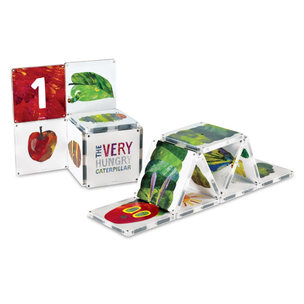 MAGNA-TILES® Eric Carle The Very Hungry Caterpillar Building Set