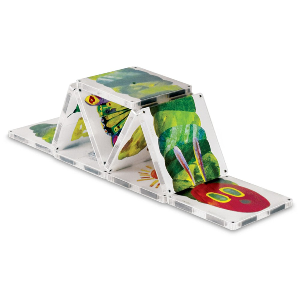 Alternate Image #1 of MAGNA-TILES® Eric Carle The Very Hungry Caterpillar Building Set