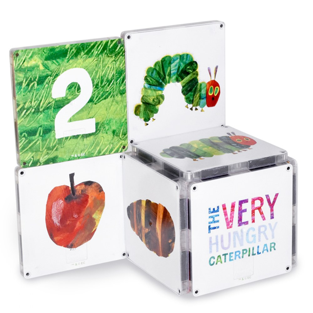 Alternate Image #2 of MAGNA-TILES® Eric Carle The Very Hungry Caterpillar Building Set