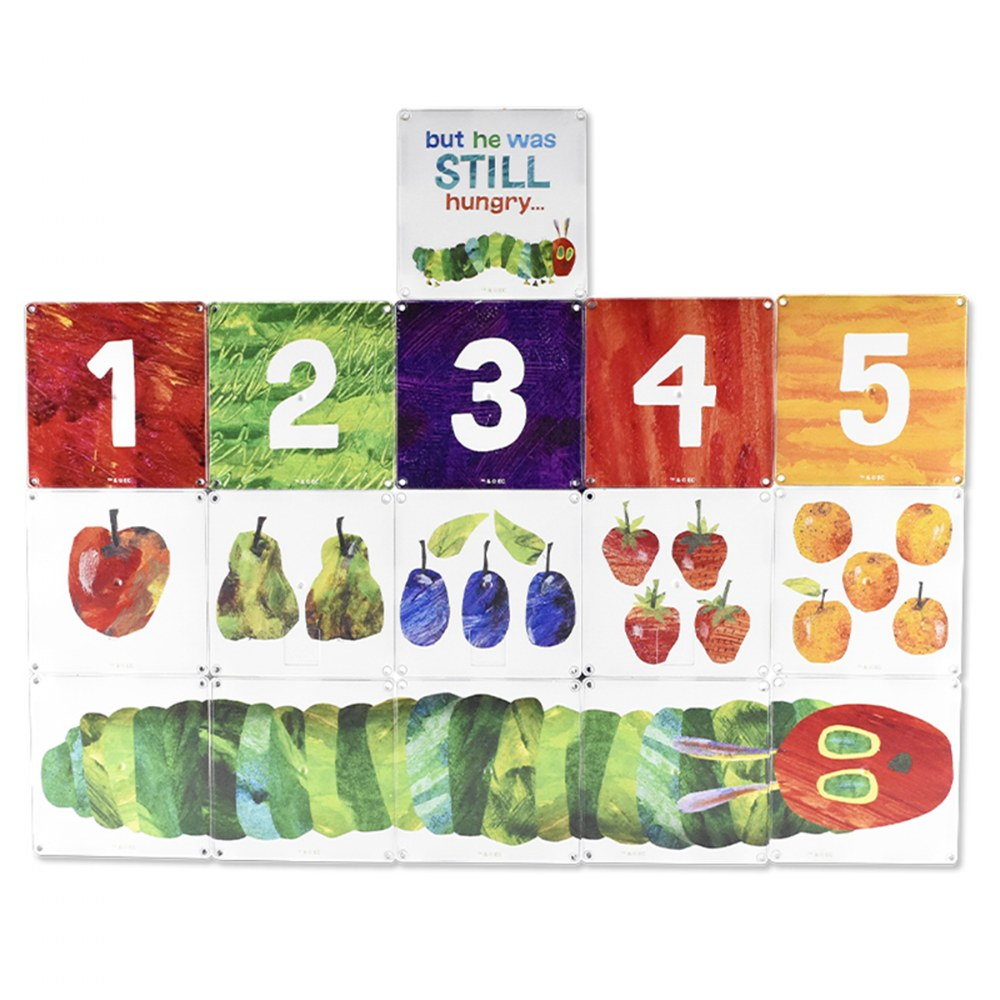 Alternate Image #3 of MAGNA-TILES® Eric Carle The Very Hungry Caterpillar Building Set