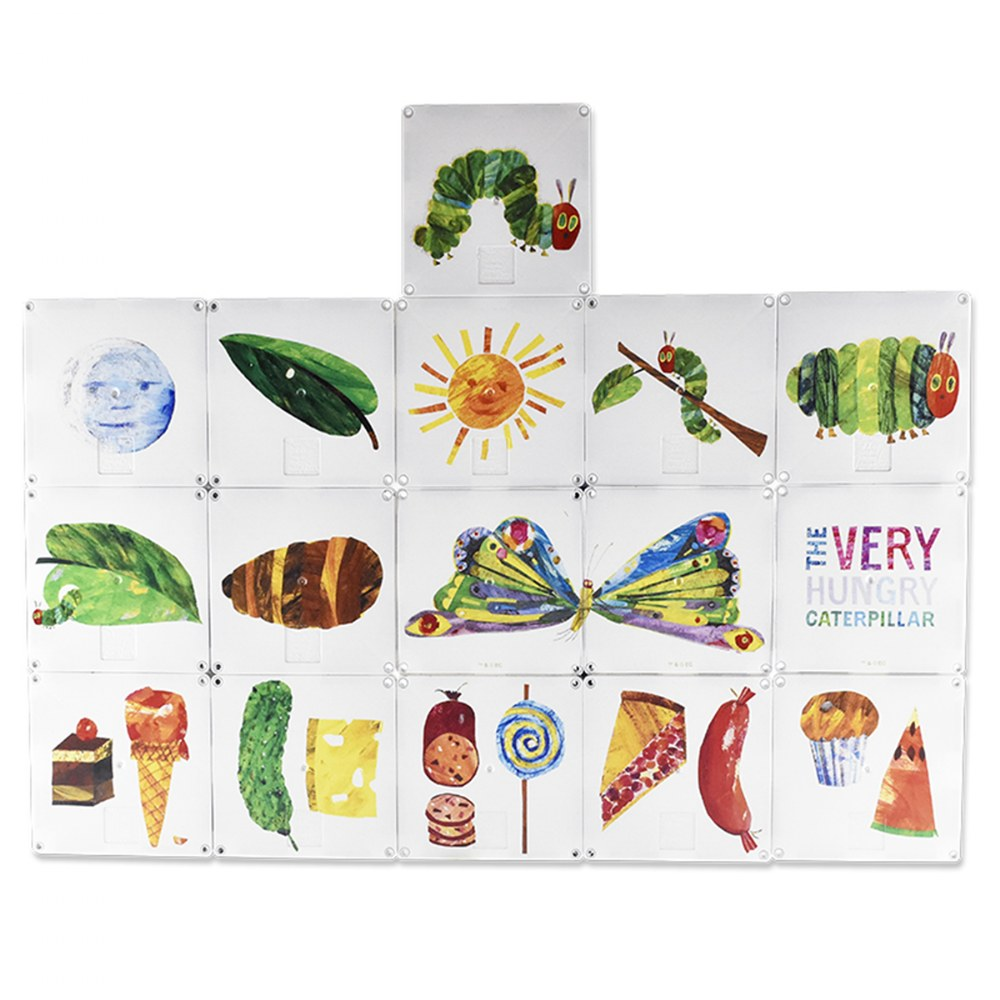 Alternate Image #4 of MAGNA-TILES® Eric Carle The Very Hungry Caterpillar Building Set