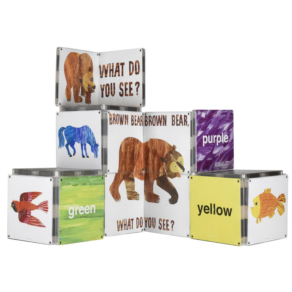 MAGNA-TILES® - Eric Carle Brown Bear, What Do You See? Building Set