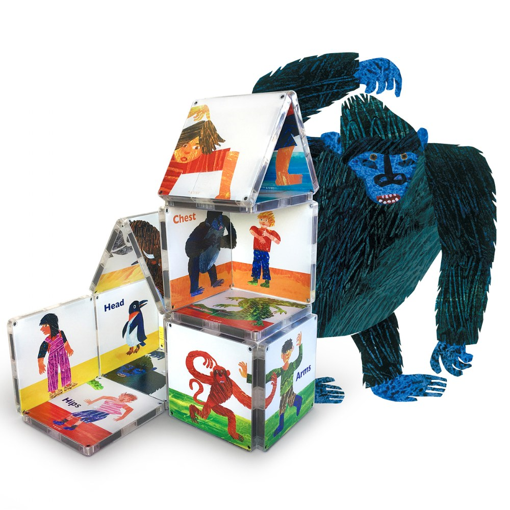 Alternate Image #1 of MAGNA-TILES® - Eric Carle From Head To Toe Building Set