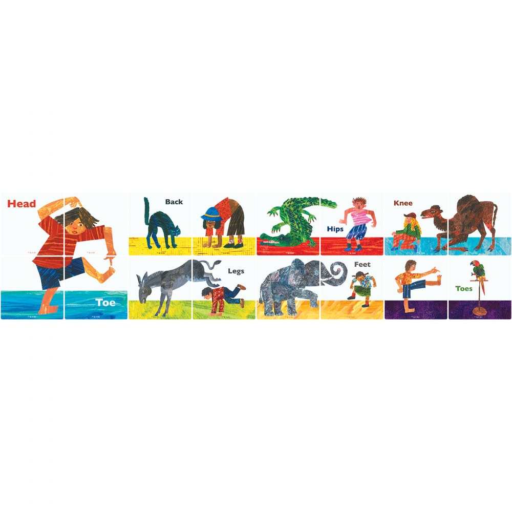 Alternate Image #3 of MAGNA-TILES® - Eric Carle From Head To Toe Building Set