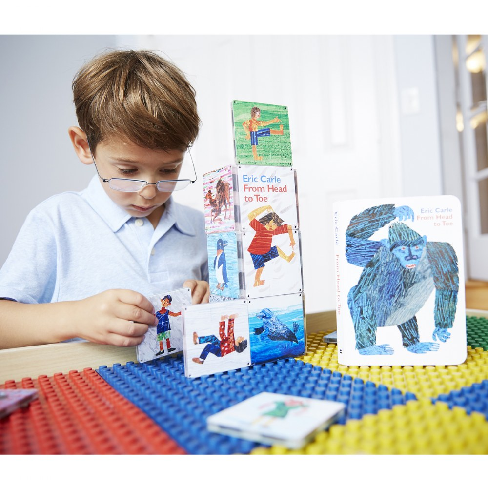 Alternate Image #4 of MAGNA-TILES® - Eric Carle From Head To Toe Building Set