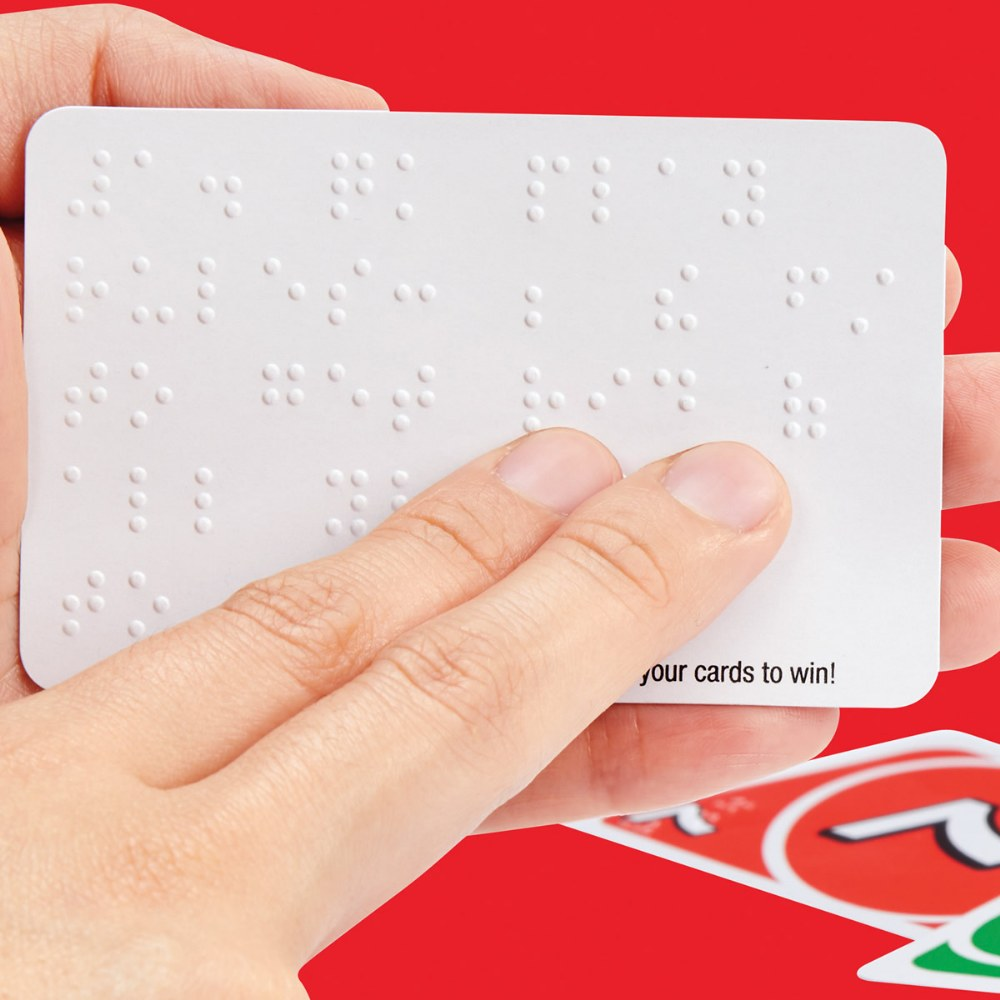 Alternate Image #2 of UNO Braille Card Game