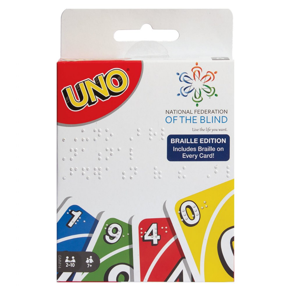 Alternate Image #3 of UNO Braille Card Game