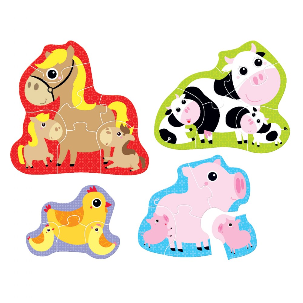 Hands at Play Construction Vehicles & Farm Animals Puzzles