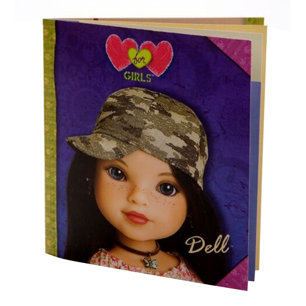 "Alternate Image #5 of Hearts for Hearts 14"" Doll - Dell from the USA"