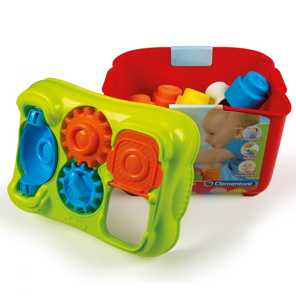 Alternate Image #2 of Baby Clemmy® Activity Box - 15 Soft Clemmy® Blocks