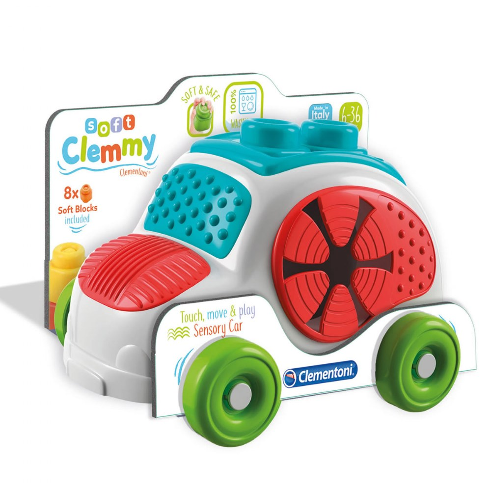 Alternate Image #7 of Baby Clemmy® Baby Soft Clemmy® - Sensory Car
