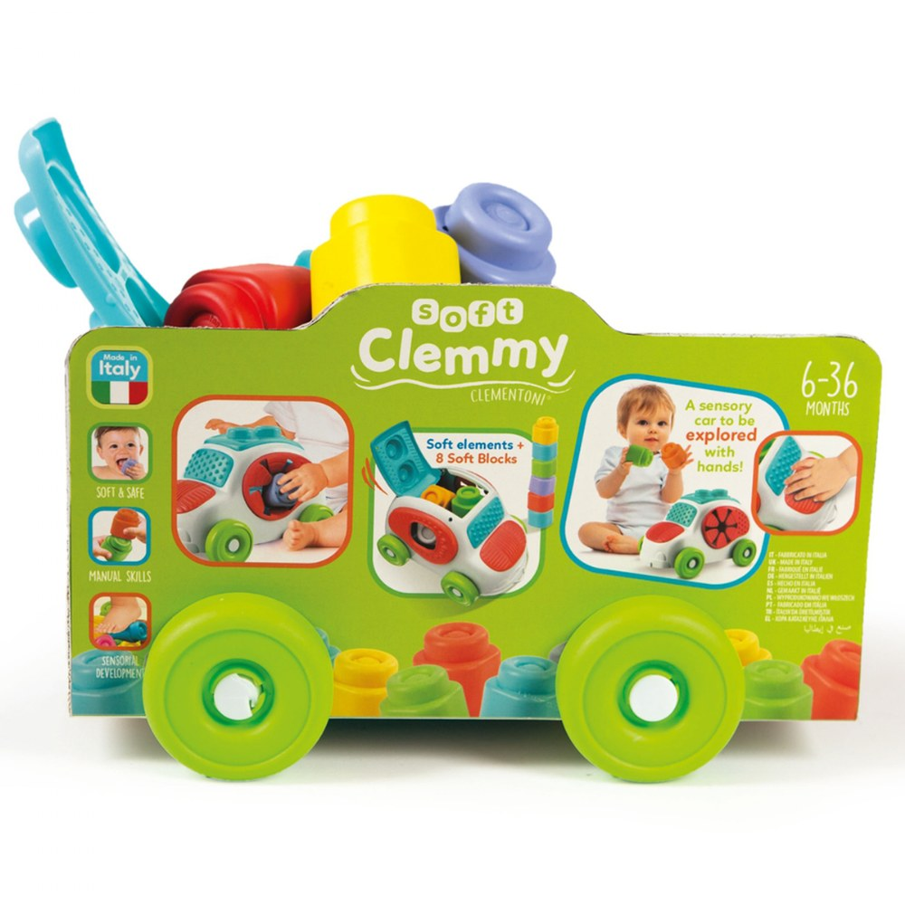 Alternate Image #8 of Baby Clemmy® Baby Soft Clemmy® - Sensory Car