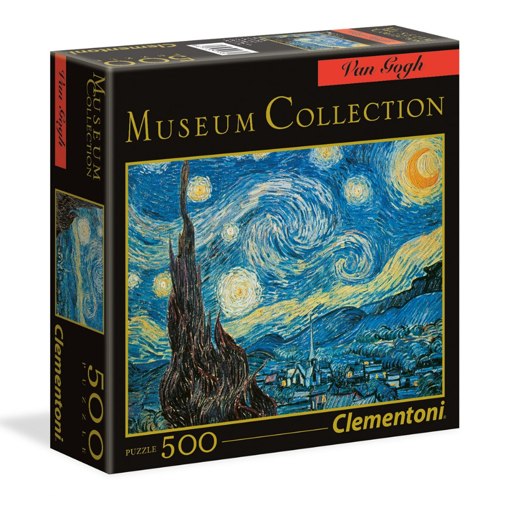 "Van Gogh ""Starry Night"" 500 Piece Puzzle - Museum Collection"