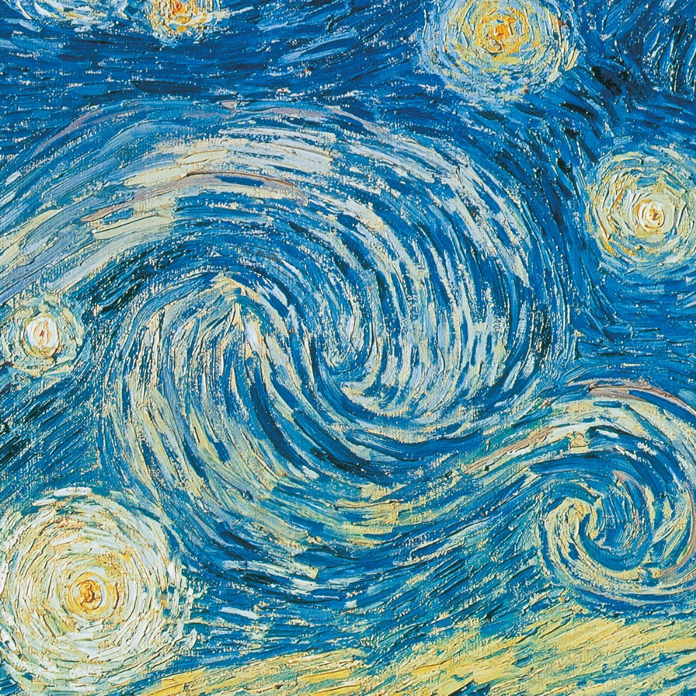 "Alternate Image #2 of Van Gogh ""Starry Night"" 500 Piece Puzzle - Museum Collection"