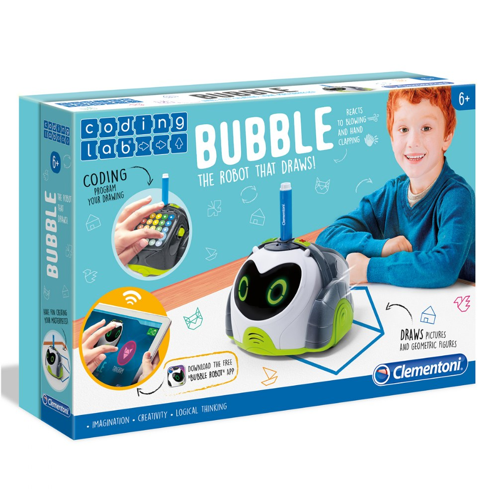 Bubble Intelligent Robot - Educational Robot For Children - 2 Modes