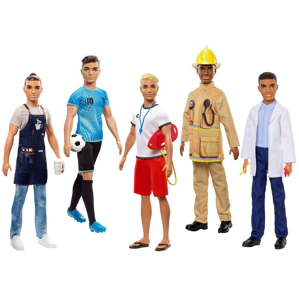 Ken Doll - Assorted Career (1 Doll) - Styles Vary