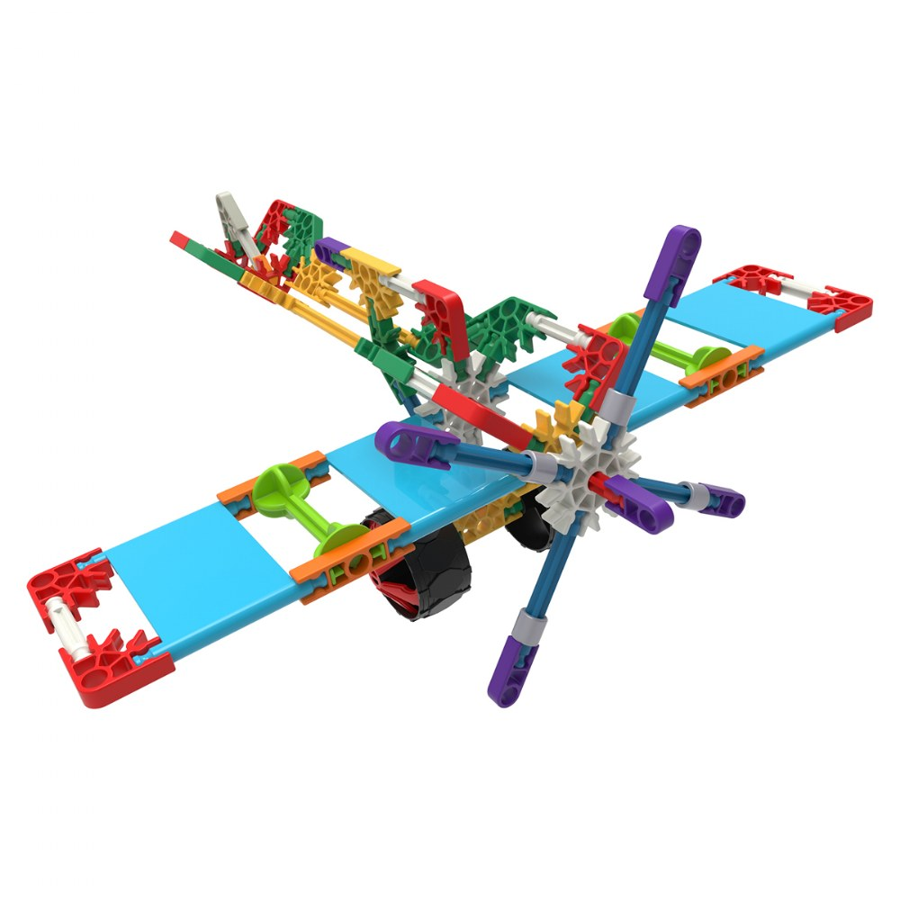 Alternate Image #2 of K'Nex Building Set - Beginner 40 Model Building Set