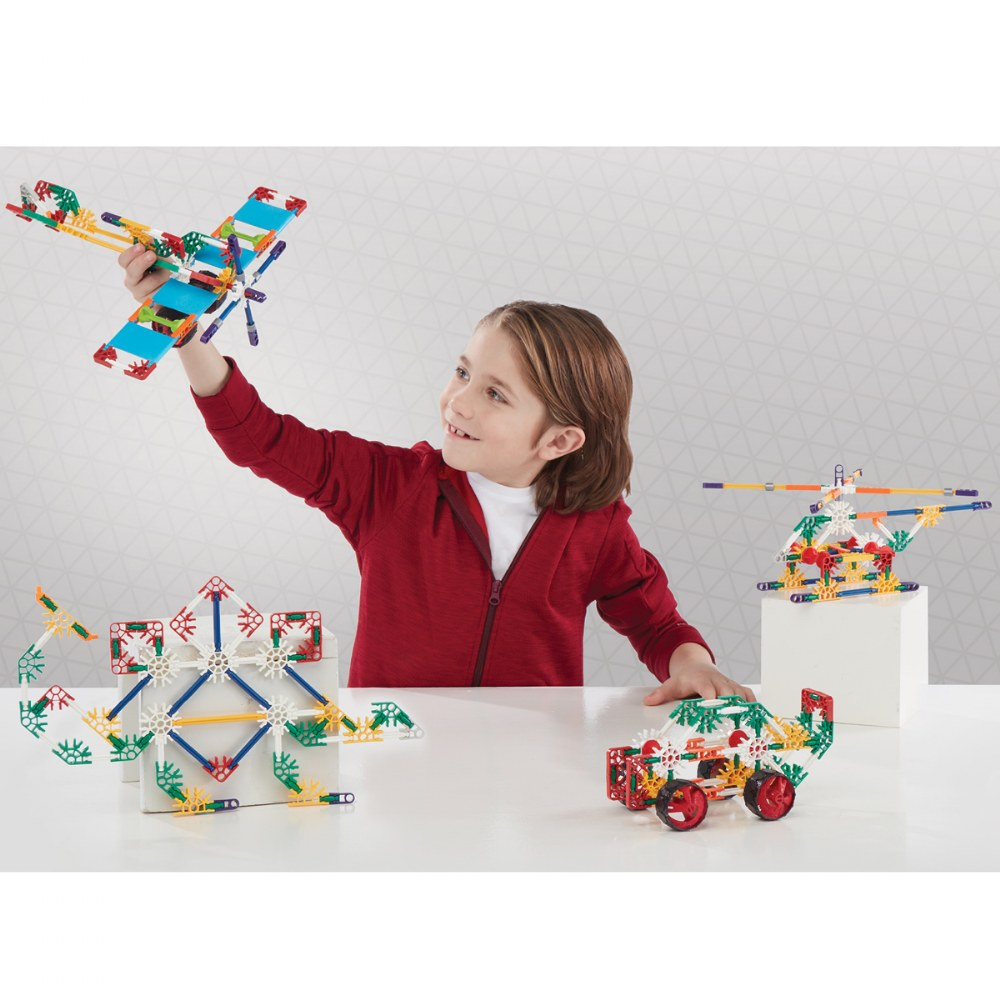 Alternate Image #7 of K'Nex Building Set - Beginner 40 Model Building Set