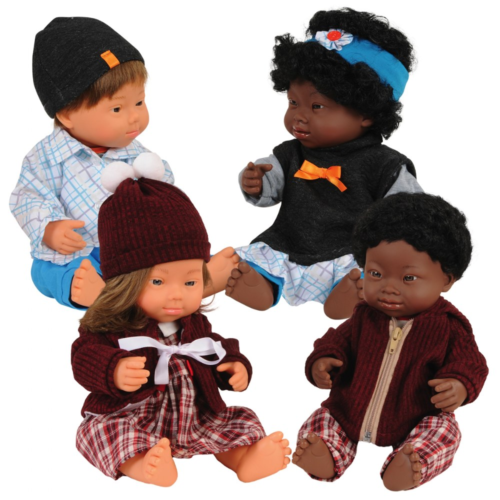 Dolls with Down Syndrome 15""