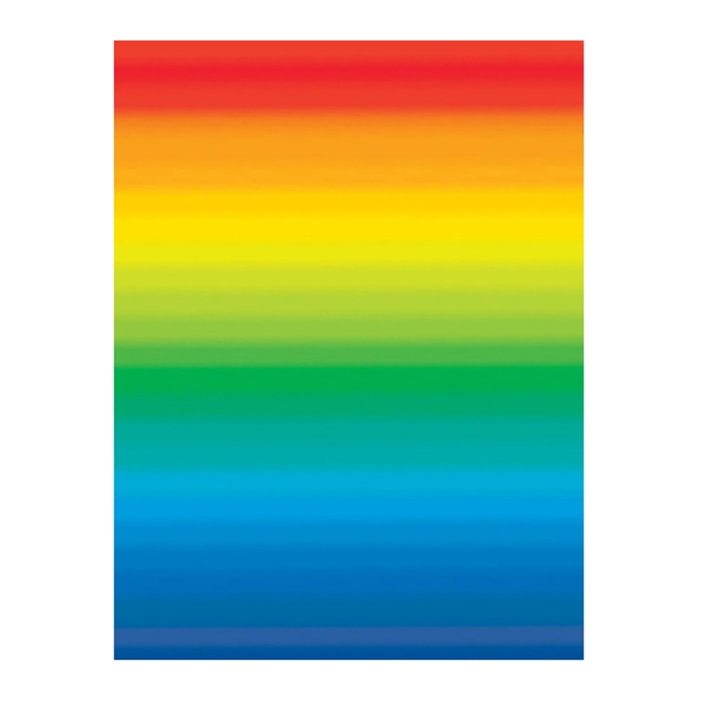 Alternate Image #2 of Double Color Rainbow Paper - 96 Double-Sided Sheets
