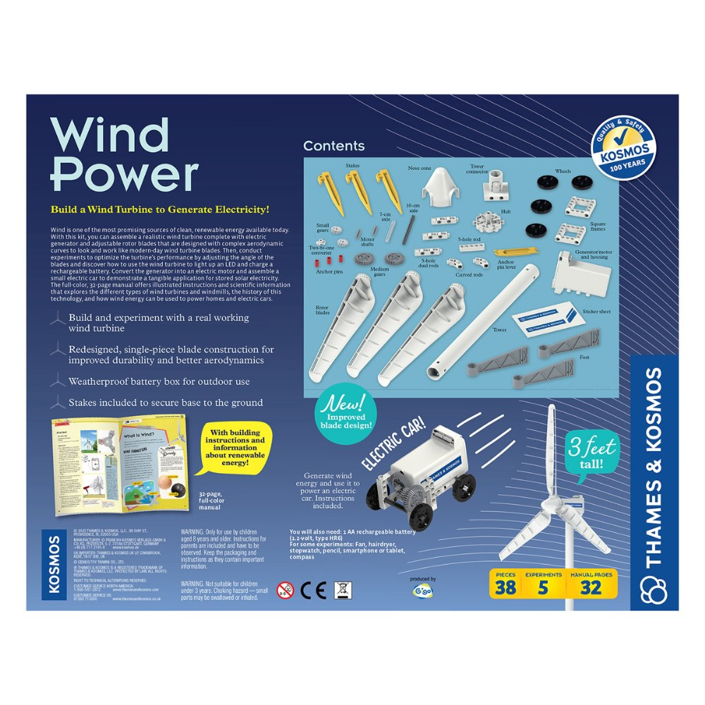 Alternate Image #2 of Wind Powered Turbine Kit - Generate Electricity