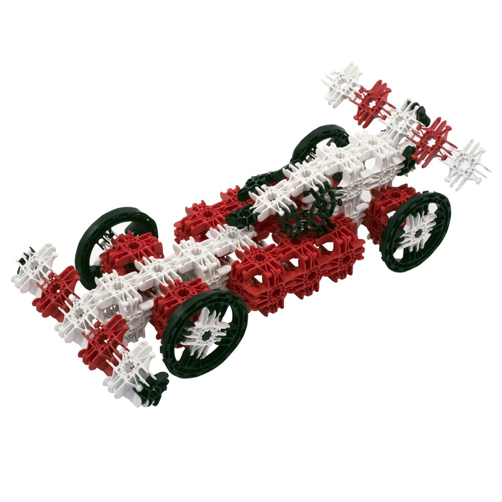 Alternate Image #1 of Lux Blox 2-in-1 Car and Airplane Set 120 Pieces - Revolutionary Snapping Hinge Technology