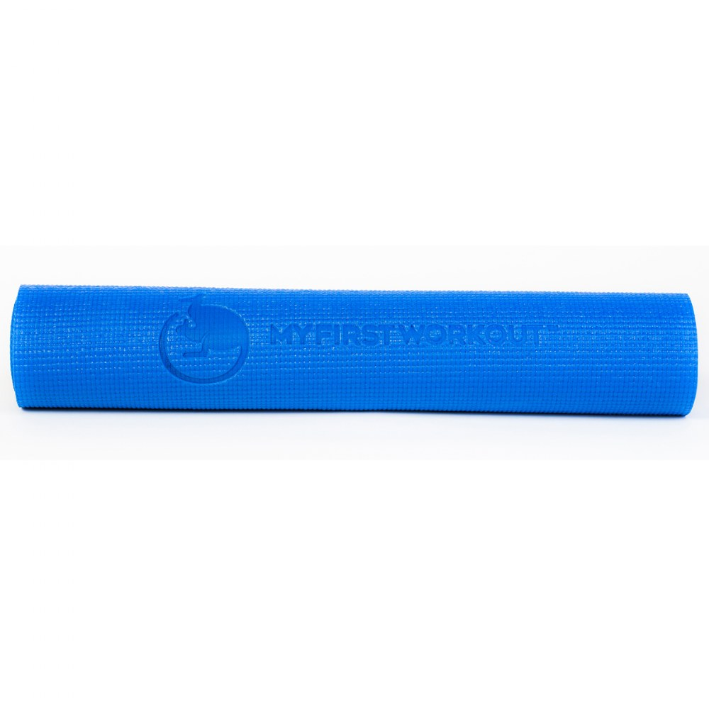 Alternate Image #1 of My First Workout Kit With Blue Mat - Strength, Exercise, and Fitness for Youth