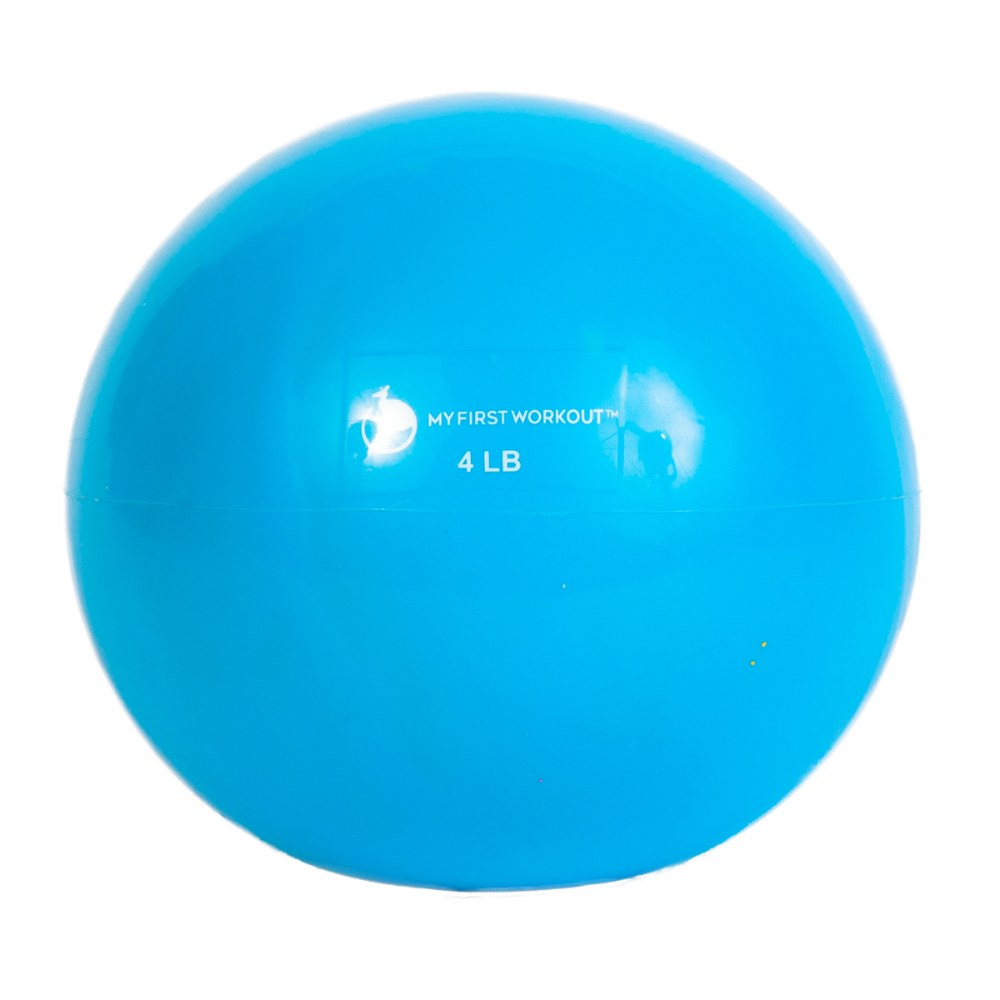 Alternate Image #4 of My First Workout Kit With Blue Mat - Strength, Exercise, and Fitness for Youth