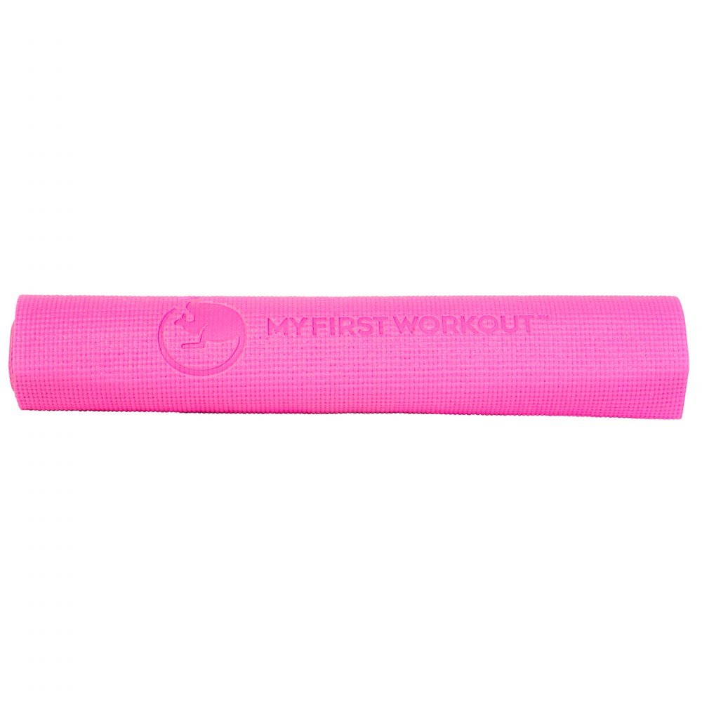 Alternate Image #1 of My First Workout Kit With Pink Mat - Strength, Exercise, and Fitness for Youth