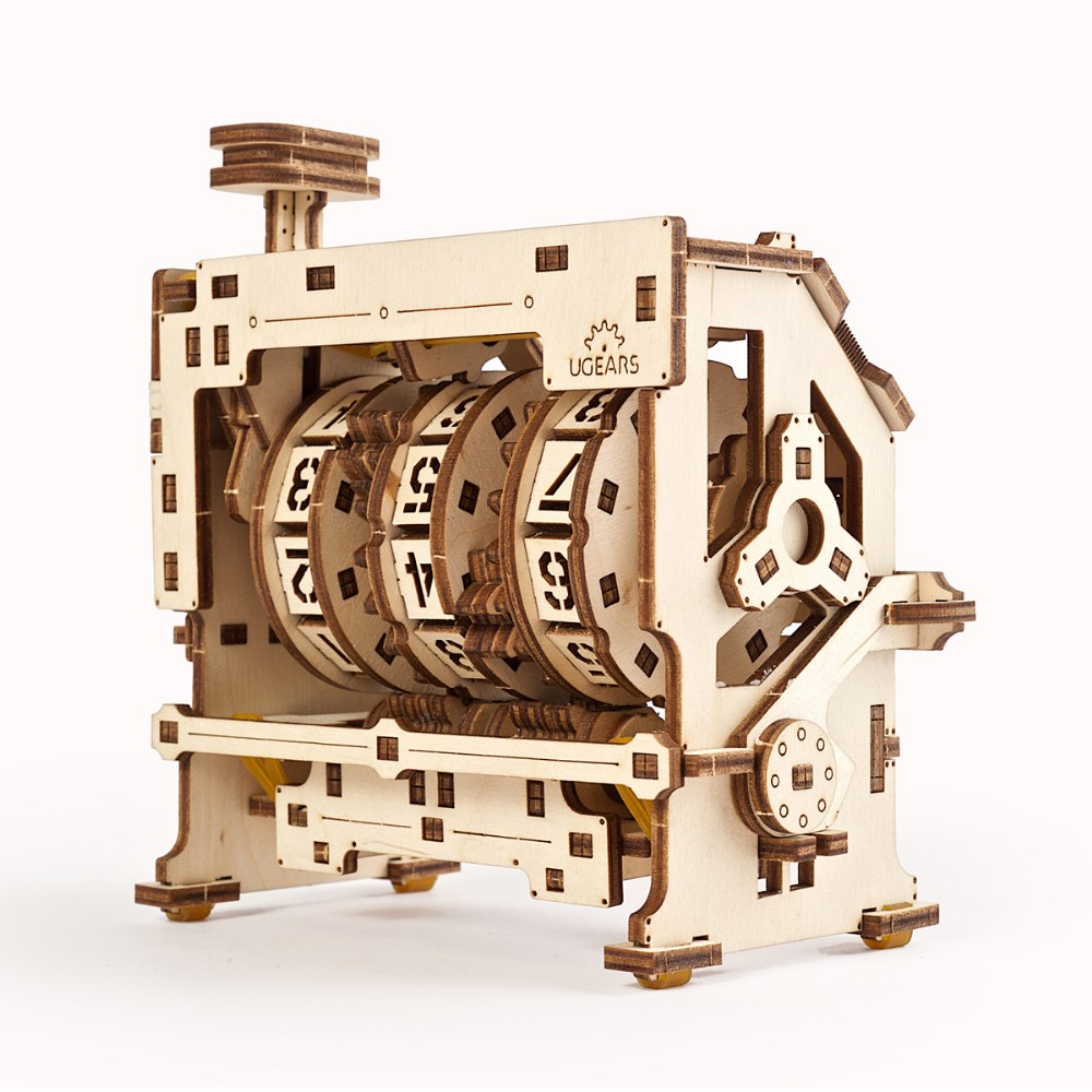 Alternate Image #6 of UGears STEM LAB Counter - Educational Mechanical Model Kit
