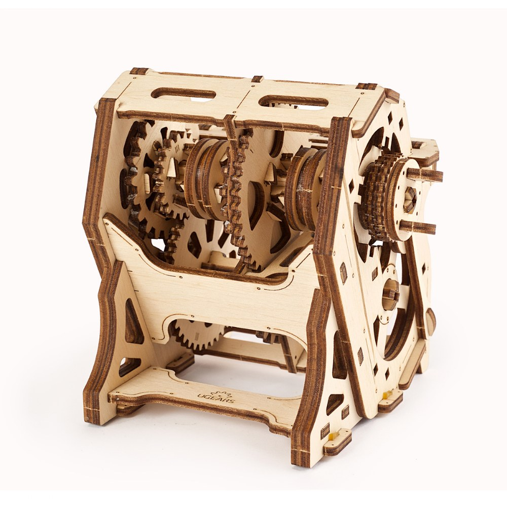 Alternate Image #6 of UGears STEM LAB Gearbox - Educational Mechanical Model Kit