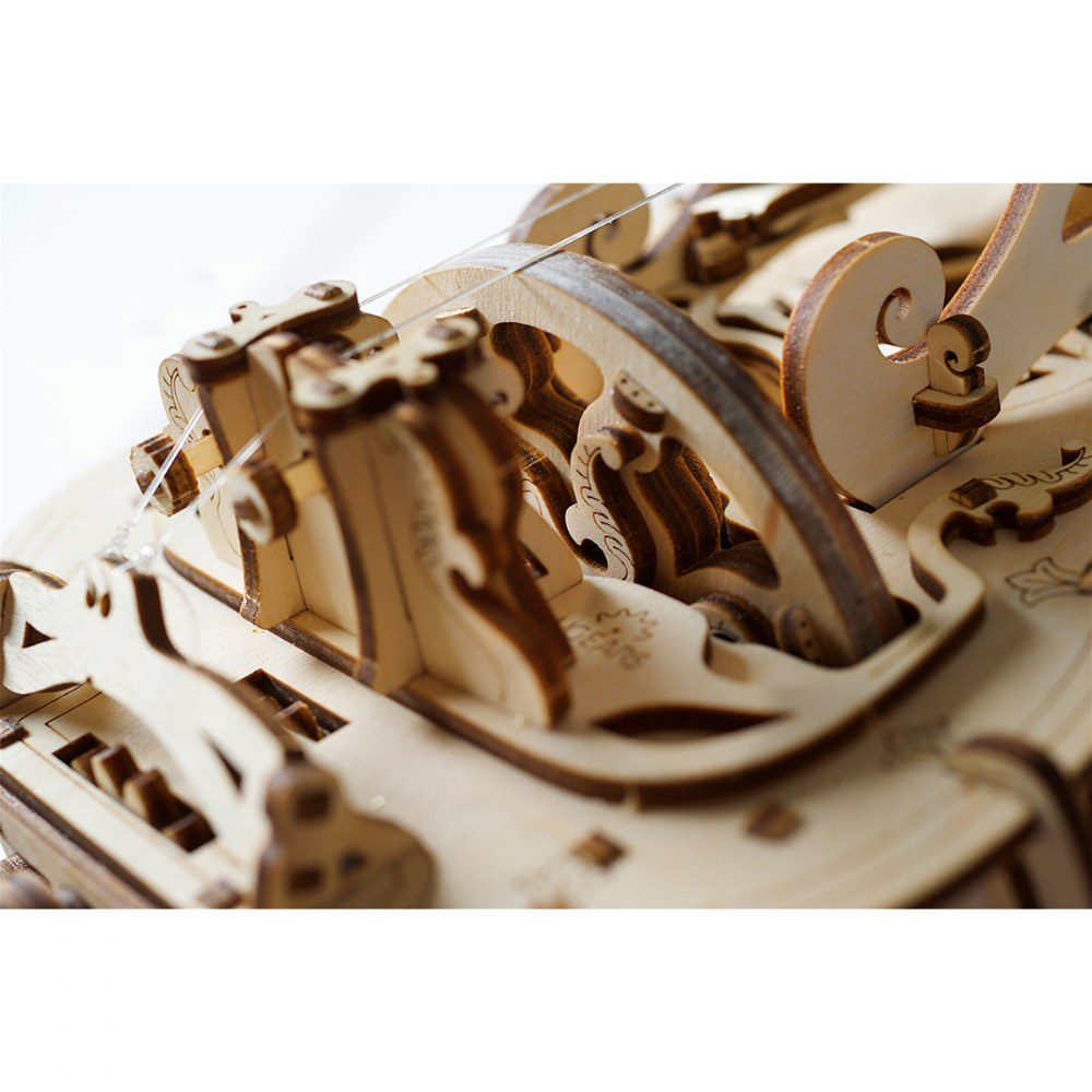 Alternate Image #8 of UGears Hurdy-Gurdy - Mechanical Model Kit